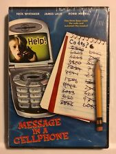Message in a Cell Phone (DVD, 2002) RARE OOP NEW SEALED