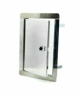 Stainless Steel Access Panels 135mm x 270mm / Metal Wall Revision Door