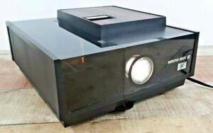 Vintage Whisper Matic III Sears Roebuck 2x2 Slide Projector w/ Manual & Box