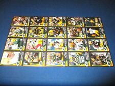 Green Bay Packers Police Card uncut sheets. 2009,10,11,12,12 Rogers!