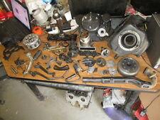 1985 Kawasaki KLR250 Clutch Breather Box Cylinder Brake Pedal Etc Parts Lot