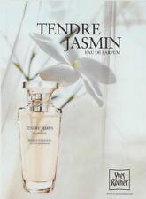PUBLICITÉ PAPIER -  ADVERTISING PAPER TENDRE JASMIN YVES ROCHER
