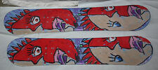 Kids Snowboards combo lot 2 boards Face, Wood core ,Steel edges 100 + 110cm  New
