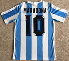 Maillot de foot Mexique Argentine 1986 #10 Maradona rétro vintage chemise
