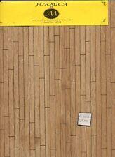 Flooring Sheet - 7152-58 Formica - Oak 180 sq.in.  miniature 1:12 scale USA