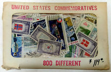Massive Packet Of 800 Different US Commemoratives Assembled Years Ago - Lot 1