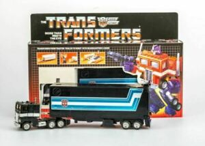 TRANSFORMERS G1 Black Reissue Optimus Prime AUTOBOT Gift Kids Toy Action US