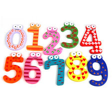 Cute Eyes Puzzle Kids Toy Alphabet A-Z Letters 0-9 Numbers Magnetic Wooden Toys