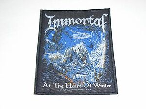 IMMORTAL AT THE HEART OF WINTER WOVEN PATCH