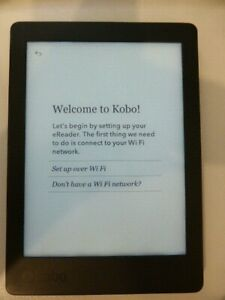 Kobo Aura Edition 2 ereader WiFi - used excellent condition inc cover cable box