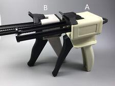 Dental Impression Material Mixing Dispensing Caulking Gun 11 12 Mixting Tips