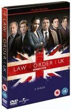 Law and Order UK Season 5 Digital Versatile Disc DVD Region 2 F