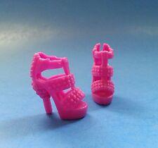 Barbie Shoes:  PURPLE STRAPPY HEELS
