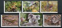 Australia Wildlife Recovery Stamps 2020 MNH Birds Koalas Butterflies 6v Set