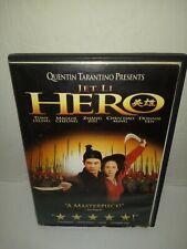 """""""Hero"""" (Dvd, 2004) Starring Jet Li"""