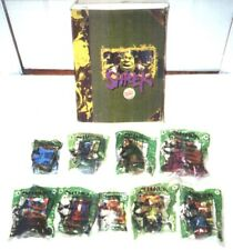 Lot of 9 Burger King Shrek Meal Toys 2001 New Sealed With Promotional Box