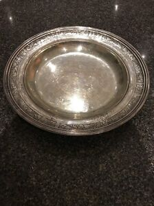 Vtg Redlich & Co. Solid Sterling Tray 495 grams J.E. Caldwell Gorgeous