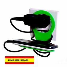 BASE DE PARED PARA MOVIL CARGADOR IPHONE ANDROID SAMSUNG CAMARAS TABLET APPLE