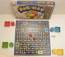 Vintage Pac Man Board Game 1980 MB Atari Arcade Complete Pop Art Nerd Ghost Ms
