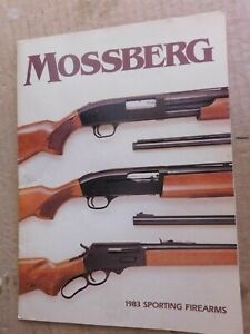 1983 MOSSBERG FIREARMS CATALOG