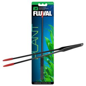 Fluval Straight Forceps 27cm Plant Tongs Firm Grip Steel Aquarium Fish Tank