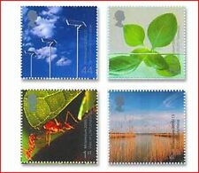 GBR0005 Life and earth 4 stamps