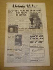 MELODY MAKER 1952 SEPTEMBER 13 BBC SHOW BAND GERALDO CAFE DE PARIS ELLINGTON +