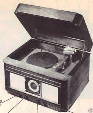 1948 GAROD 306 PHONO PHONOGRAPH RADIO SERVICE MANUAL PHOTOFACT