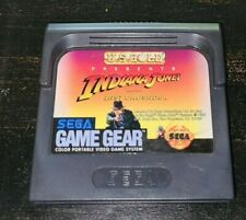 Indiana Jones and the Last Crusade Sega Game Gear Cart Only Tested