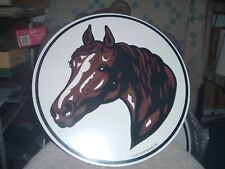 """ZOOK NOVELTIES HEX SIGN, 16"""" Carriage Horse (H-8)"""