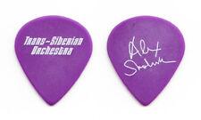 TSO Trans-Siberian Orchestra Alex Skolnick Purple/White Guitar Pick - 2009 Tour