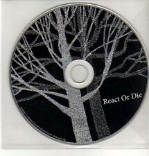 (CQ249) How Does It Feel To Be Loved?, React Or Die - 2009 DJ CD