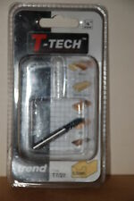 "T-Tech, Trend TT27 ¼"" Shank 6.3mm Cove Router Bit New and Sealed"