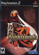 Nightshade PS2 New Playstation 2