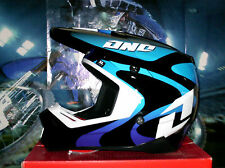 One Industries MX casco gamma lava azul Cross Enduro quad m yamaha yz-f Thor Fox