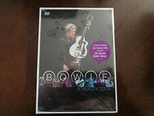 David Bowie - A Reality Tour (DVD, 2004) NEW