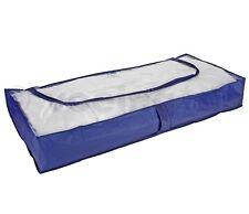 1 Stück Unterbett Kommode Unterbettkommode Unterbett Kommode atmungsaktiv blau