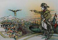 CHAVANON Roger-Louis : Napoléon - LITHOGRAPHIE Originale signée #300ex