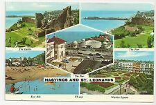Elgate Postcards, ET.5316, Hastings and St Leonards Multiview