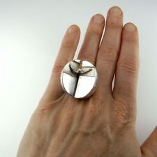 Ring No Stone Sterling Silver Vintage & Antique Jewellery