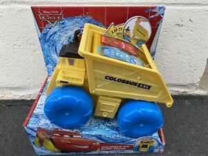 Disney Pixar CARS Movie Hydro Wheels COLOSSUS XXL Floating Dump Truck Toy NEW