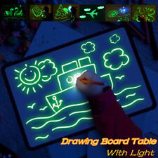 A3 Draw With Light Fun & Developing Drawing Board Magic Draw Educational Tablet