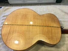 Mint Washburn J58SW Solid Wood Flame Maple back sides Fact Case