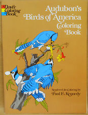 """Audubon's Birds of America Coloring Book""  Dover  Publications"