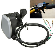 New 7/8'' Handlebar Electric Bike Scooter E-Bike Thumb Throttle Gas Twist 3 wire