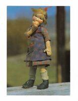 AK, Puppen, Original Elli Riehl Puppe, Kärnten Österreich, Museum Winklern