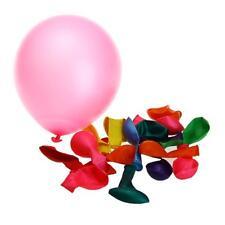 100pcs Nacré Ballon Gonflable Rond Déco pour Anniversaire Fête Mariage Salle