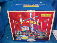Lemax Village Collection Cha Cha Amusement Park Animated Ride w Lights + Sound