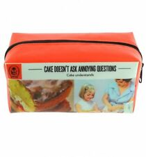 Vintage Style Adults Ladybird Design Print Large Pencil Case Cake Friends GIFT