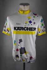 Nabholz Kärcher vintage Rad Trikot Fahrrad Gr M 55cm Bike cycling jersey  G4